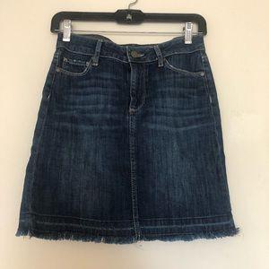 Paige denim skirt